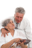 Elderly man and woman Stock Photography
