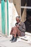 An elderly mant, Cuba Royalty Free Stock Photos