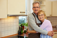 Elderly married couple Royalty Free Stock Photo