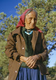 Elderly Native American Woman Stock Images