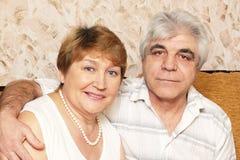 Elderly pair Stock Image