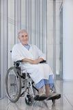 Elderly patient royalty free stock photos