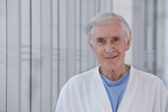 Elderly patient Royalty Free Stock Photo