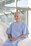 Elderly patient Stock Photo