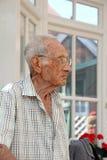 Elderly pensioner man Royalty Free Stock Image