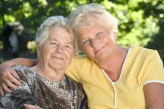 Elderly people Royalty Free Stock Photography
