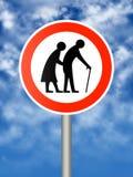 Elderly people Stock Images
