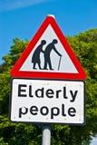 Elderly people Stock Photo