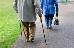 Elderly people Stock Image