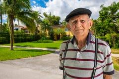 Elderly Man Outdoors stock photo
