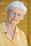 elderly portrait woman Στοκ Εικόνες