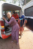 Elderly residents Stock Photography