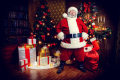 Elderly santa Royalty Free Stock Photos