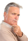 Elderly senior man Stock Photo
