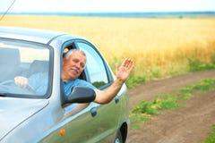 Elderly senior man Royalty Free Stock Image