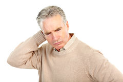Elderly senior man Stock Photo