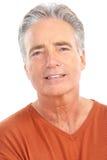 Elderly senior man Stock Image