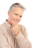 Elderly senior man Stock Images