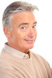 Elderly senior man Royalty Free Stock Images