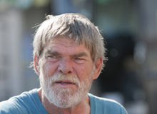 Elderly senior man Royalty Free Stock Photography
