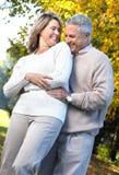 Elderly seniors couple Stock Photography