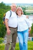 Elderly seniors couple Stock Photos