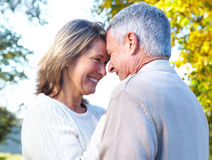 Elderly seniors couple Stock Photography