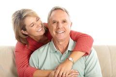 Elderly seniors couple Royalty Free Stock Photography
