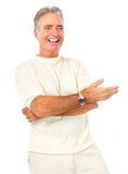 Elderly senoir  man Royalty Free Stock Photography