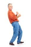 Elderly senoir  man Stock Photo