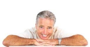 Elderly senoir  man Stock Images