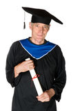 Elderly student Royalty Free Stock Image