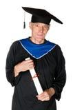 Elderly student royalty free stock image