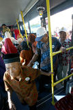Elderly tour Stock Image