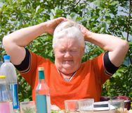 Elderly woman 1 Royalty Free Stock Photos