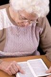 Elderly woman Royalty Free Stock Photos