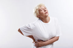 An elderly woman Royalty Free Stock Image
