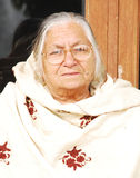 An elderly woman Royalty Free Stock Photos