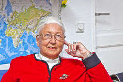 Elderly woman Royalty Free Stock Photography