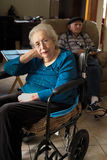 Elderly woman Royalty Free Stock Images
