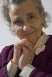 Elderly woman Stock Photography