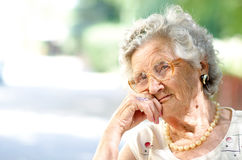 Free Elderly Woman Stock Photos - 36533263
