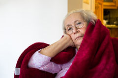 Elderly woman Royalty Free Stock Photos