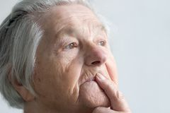 Elderly woman Stock Photos