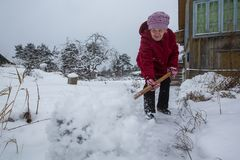 Snow old women