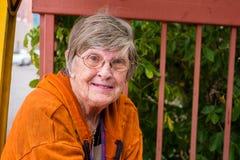 Elderly woman Royalty Free Stock Image