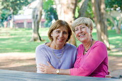 Elderly women Royalty Free Stock Photo