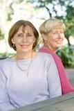 Elderly women Stock Images