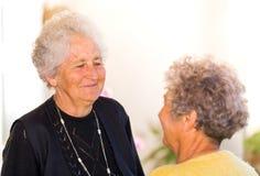 Elderly women Royalty Free Stock Photo