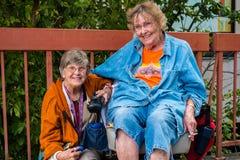 Elderly women Royalty Free Stock Photography